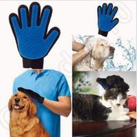 Wholesale Pet Dog Cleaning Brush Magic Glove True Touch Cleaning Brush Magic Glove Gentle Efficient Pet Massage Grooming Groomer CCA4824