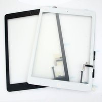 Wholesale A Touch Digitizer Glass Button for Apple iPad Air For iPad air for iPad Touch Screen Glass Digitizer DHL free
