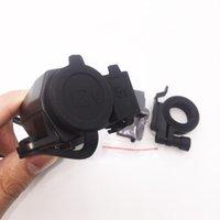 Wholesale tomada v Waterproof Motorbike Motorcycle phone charger V Cigarette Lighter V USB Power Port Adaptor Socket Charger
