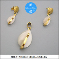 amber drop earrings - Latest Hot Professional Jewelry Factory Offer K Gold Plated Stainless Steel Jewelry Drop Set with Amber Imitation