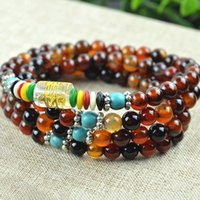 best bead websites - Best Websites Charm Natural Agate Bead Bracelets Strand Agate Stone Bead Stones Bracelet Jewelry MM