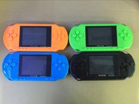 Wholesale Hot selling handheld game player PXP3 color screen popular handheld games cheap game player JBD PXP3