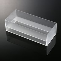 Wholesale 2016 Can Be Customed Grind arenaceous Plastic Tool Storage Boxes New Arrival Acrylic Clear Tissue Box Transparent Cover Rectangular Holder