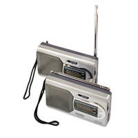 Wholesale AA Battery Portable AM FM Radio Receiver Radiogram Without Screen Classic Simple Function