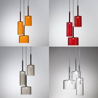 axo light italy - Italy Design Spillray Pendant Lights Modern Minimalist Glass Art Chandelier Lightings Axo Ceiling Light Bar Office Studio lights