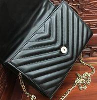 Wholesale Women messenger bags luxury handbags women bags designer shoulder bag ladies clutch purses and handbags black chain bag tote bolsa feminina