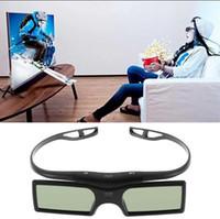 Bluetooth del obturador 3D gafas activas para Samsung / Sony para Panasonic para 3DTVs Universal TV gafas 3D más nueva VR Gafas
