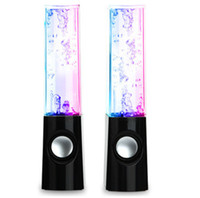 aac music player - LED Dancing Water Show Music Fountain Light Speakers for Phones Computer Laptop And Sound Bar Sound lLink Sound Card For PC