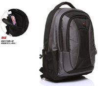 Wholesale The new Swiss Army knife backpack ms man inch Computer Bag Fashion Korean travel business school bag