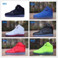 Wholesale New High Skate Shoes Hyperfuse Premium Breathable Men Shoes Black White Transparent Sole Shoes