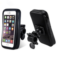 bicycle mount phone - New Bike Accessory Cycling Waterproof Handlebar Bicycle Mount Holder Case for Mobile Phone GPS DHL Free