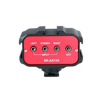 Wholesale Saramonic SR AX100 Audio Adapter Channel mm Inputs DSLR Cameras