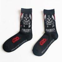 Wholesale New Arrival Star Wars Patterns Good Quality Cotton Casual Socks Men Women Black Brand Sport Socks