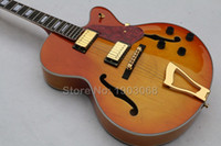 archtop jazz guitar - Factory New arrival Custom Shop Byrdland Florentine archtop electric guitar with Vintage cherry sunburst Hollow Jazz guitar