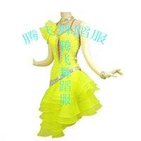 Wholesale Upscale Latin dance clothing Latin performance clothing Latin costumes professional custom