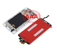 For LG LCD Screen Panels Bar Maintenance accessories wholesale mobile phone touch screen LG G2 LCD Display Touch Screen Digitizer complete original new framework