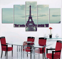 ar decors - unframed Piece The Eiffel Tower Modern T HD Picture Wall Ar Canvas Print Painting For Living Room Home Decor