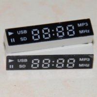 acrylic dvd display - 2pcs LED Display segment digit for Car Audio System or DVD Red digital breathalyser