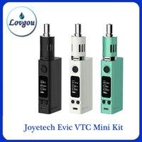 Precio de Evic joytech-cloneEvic VTC Mini Kit completo 60w <b>JOYTECH Evic</b> VT TC Mini Kits ecigarette Joye bobinas de repuesto tecnología EVIC-vt vs istick 100w 60w TC Subox nano