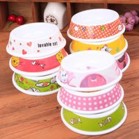 melamine dog bowl - 1 x Dogs Cats Pet Melamine Travel Feeding Bowl Water Dish Feeder home supplies
