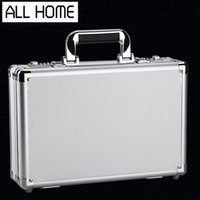 aluminum file cabinet - Aluminum Toolbox instrument Housing Multifunction File Cabinet small portable safe