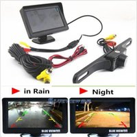 Wholesale Infrared Night Vision Reversing Camera quot TFT Sun Shade Screen Monitor Display car yy101
