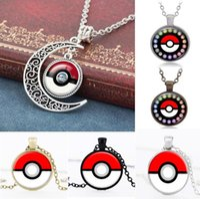 african times - 50CM Poke alloy pendant Time gemstone pendant necklace moon Halder Poké Jewelry Valentine s Day Jewelry E280