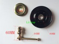 air conditioner bearing - Auto air conditioner ac tensioner pulley idler pulley A89 pole and bearing good quality