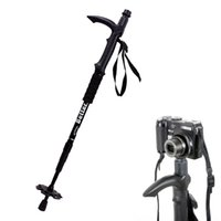 Wholesale Light Weight Multifunctional Anti Shock Walking Stick Trekking Trail Pole Camera Monopod for Hiking Outdoor Equipment