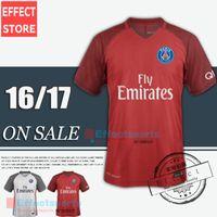 ben red - Ligue home blue Soccer Jerseys away white red Maillot de foot CAVANI Di Maria PASTORE T SLIVA BEN ARFA DAVID LUIS Football shirt