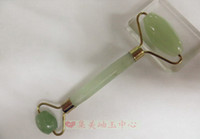 beauty cosmetic products - Natural jade products jade face roller jade for cosmetic Massage Beauty Tool New