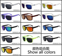 Wholesale 2016 Summer Fashion Men Sunglasses Holbrook Coating Goggles Sports Eyewear Men Women Sun Glasses Brand oculos de sol with logo