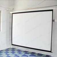 Wholesale 100 Inch Inch Inch Inch Inch brand new hot selling motorized projector screen cheapest electric projection screens