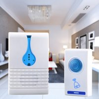 Wholesale 501D Melody Wireless Remote Control Transmitter Receiver Doorbell Set White Blue in some areas