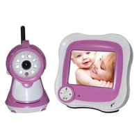 analog digital receivers - 2 G wireless digital baby monitor inch display Support the temperature display music playing The night vision