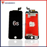 Wholesale For iPhone s s plus LCD Display Touch Screen Digitizer Assembly With Frame Replacement By DHL