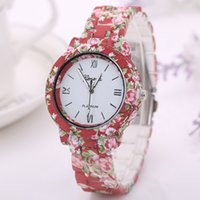 alibaba express - 2016 Alibaba Express Good Price Fashion Multi Geneva Colores Plastic Strap Beautiful Women Dress Watches Ladies