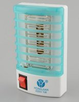 Wholesale Hot Selling Mosquito Killer LED Mini Sensor Night Light V W Range Pest Bug Reject Mole Repeller Insect Repellent Home Safe