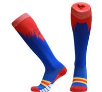 baseball safety - Men s soccer stockings high socks towel bottom thick sports socks knee socks absorb sweat antiskid functional football Sports Safety