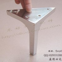 Wholesale Drawing sofa legs stainless steel TV cabinet adjustable foot stool foot bed foot shoe Hardware Exhibition