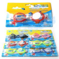 Wholesale kid swimming goggles child swimming anti fog waterproof goggles eyewear
