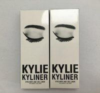 Wholesale Dropshipping hot Kylie Cosmetics By Kylie Jenner Kyliner In Black Brown with Eyeliner Gel pot Brush Eyebrow Enhancers