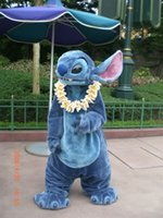 best movie dresses - 2016Halloween Luxury Lilo And Stitch Professional Lilo And Stitch The Best Mascot Costume Suit Halloween Christmas Birthday Dress Adult Size