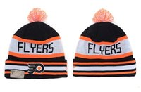 best flyer - Philadelphia Flyers Hockey Beanies Team Hat Winter Caps Popular Beanie Caps Skull Caps Best Quality Sports Caps Allow Mix Order