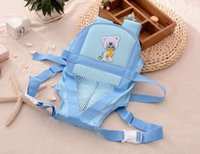 animal carriers - New Top quality bear printed pure cotton baby carrier infant carrier sling baby suspender baby backpack WA0181
