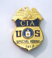 Wholesale The metal badge CIA Special Operations Team America agent badge badge waist hanging copper Badge