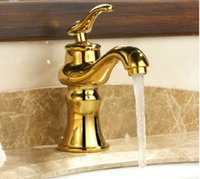 affordable faucet - Gold plated taps Hot and cold water tap Amphibious faucet quality durable affordable