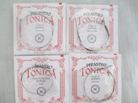 Wholesale Pirastro Tonica Violin String Set or Size German Made E A D G
