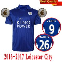 thailand football jerseys - Thailand Quality Season Leicester City Home Soccer Uniform Football Jerseys DRINKWATER ULLOA DYER MAHREZ VARDY