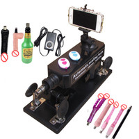 Wholesale Automatic Sex Machine with Bluetooth Photograph and Video Swept the World Female Masturbation times min Telescopic Sex toy Machine